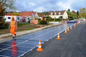 Solar panel road [image credit: Wattway]