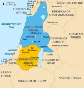 Kingdom of Judah [credit: IB Times]