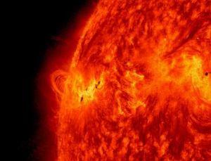 Solar activity [image credit: NASA]
