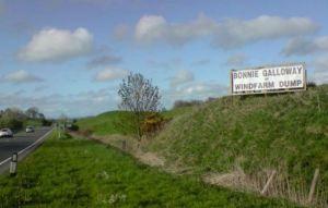 Windfarm objection in Galloway